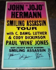 Buy LUTHER DICKINSON SIGNED CONCERT POSTER Smiling Assassin Tour 2003
