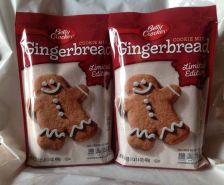 Buy BETTY CROCKER LIMITED EDITION GINGERBREAD COOKIE MIX-Lot of 2
