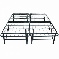Buy Sleep Master Platform Metal Bed Frame/Mattress Foundation, Queen Black Bedroom