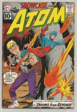 Buy SHOWCASE #35 ATOM 1960's Silver Age Origin DC COMICS VG+/Fine or better range