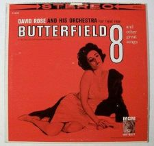 Buy BUTTERFIELD 8 ~ 1961 Soundtrack LP Elizabeth Taylor David Rose