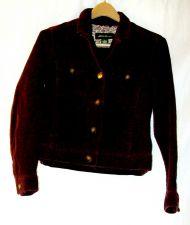 Buy EUC women's, sz.S, Eddie Bauer burgundy, long sleeve, corduroy, jacket