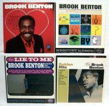 Buy BROOK BENTON ~ Lot of ( 4 ) R&B / Blues / Soul LPs
