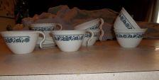 Buy Corelle Blue Onion Cups/Saucers 14 pieces