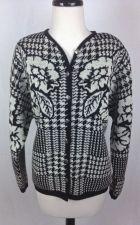 Buy Pendleton Sweater L Womens Black Wool Long Sleeve