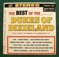 Buy The BEST OF THE Phenomenal DUKES OF DIXIELAND ~ 1961 Jazz LP Audio Fidelity