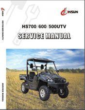 Buy Hisun HS700 HS600 HS500 UTV Service Manual CD - HS700UTV HS600UTV HS500UTV