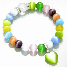 Buy Cute Crystals Money Talisman Green Quartz Bracelet