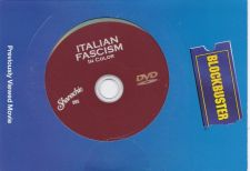 Buy Italian Fascism in Color DVD 2007