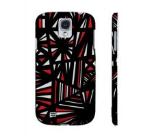 Buy Bivings Red White Black Samsung Galaxy S4 Phone Case