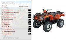 Buy 2007 Arctic Cat ATV Service Repair Manual CD - ArcticCat 400 500 TBX TRV 650 700