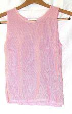 Buy EUC women's, sz. P/S SARA ARIZONA, pink, sleeveless, pull over sweater
