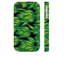 Buy Lindinha Green Yellow Iphone 4/4S Apple Phone Case Flowers Botanical