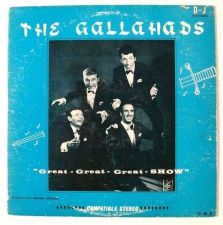 Buy The GALLAHADS ~ Great Great Great Show 1950's Pop LP / All 4 members signed