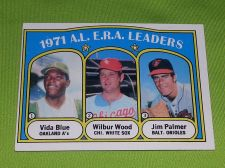 Buy VINTAGE JIM PALMER VIDA BLUE WILBUR WOOD 1971 TOPPS #92 GD/VG