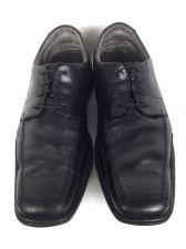 Buy Clarks Shoes Mens 10.5 Black Leather Oxfords