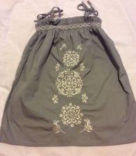 Buy Gray White Girls Sleeveless Summer Dress Size 3t