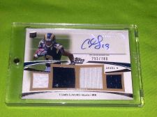 Buy NFL CHRIS GIVENS 2012 TOPPS PRIME AUTO QUAD JERSEY /780 MNT