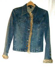 Buy EUC women's, sz.8, Kenzie JEANS, blue, denim, button down, jacket