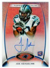 Buy NFL 2012 Topps Platinum Joe Adams AUTO RC MNT