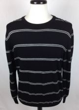 Buy Jos A Bank Sweater Mens L Black Merino Wool Long Sleeve