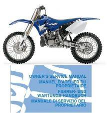 Buy 2001-2007 Yamaha YZ250 Service Repair Workshop & Owner's Manual CD --- YZ 250