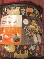 Buy New Infantino Compact Cart and Highchair cover Jungle Animals