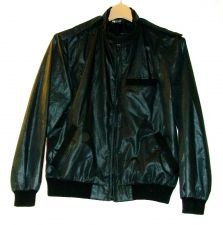 Buy EUC women's sz. 13 (M/L US), MERCER STREET EXPRESS, black, lined, wind breaker
