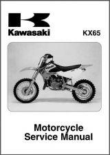 Buy 2000-2007 Kawasaki KX65 Service Workshop Repair Manual CD .. - KX 65