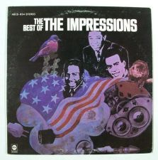 Buy The IMPRESSIONS ~ The Best of the Impressions 1968 Soul / R&B LP