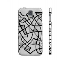 Buy Dottle Black White Samsung Galaxy S5 Phone Case
