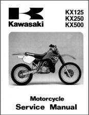 Buy 1988-2004 Kawasaki KX125 KX250 KX500 Service Repair Manual CD - KX 125 250 500