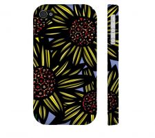Buy Zurowski Yellow Black Iphone 4/4S Apple Phone Case Flowers Botanical