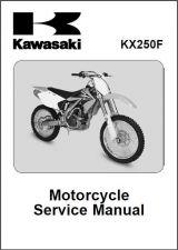 Buy 04-05 Kawasaki KX250F Service Repair Workshop Manual CD ..- KX 250 F KX250 250F