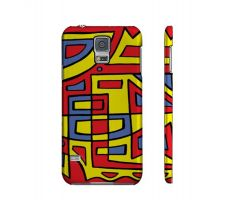 Buy Rudes Yellow Red Blue Samsung Galaxy S5 Phone Case