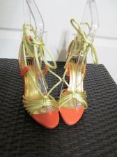 Buy (826) M By Shakara Size 8.5 M Orange and Gold Dress Shoes