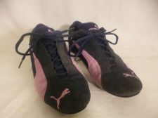 Buy Puma Speed Cat Navy Blue/Pink Suede Sneakers Tennis Shoe Womens Size 9.5