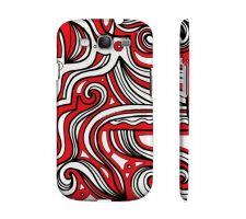 Buy Tremayne Red White Samsung Galaxy S3 Phone Case