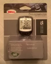 Buy Bell Platinum Series Wireless Cyclocomputer 15 function bicycle bike SPEEDOMETER