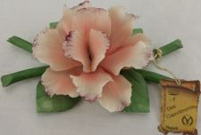 Buy Dea Capodimonte Made Pink Rose With Tag