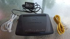 Buy Motorola model 2247 N8 PC MAC DSL modem USB ethernet internet wireless WPS