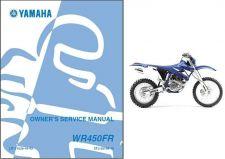 Buy 2003-2011 Yamaha WR450F Service Repair Workshop & Owner's Manual CD -- WR 450 F