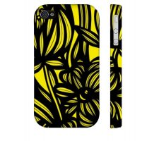 Buy Fish Yellow Black Iphone 4/4S Apple Phone Case Flowers Botanical