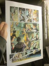 Buy ORIGINAL COMIC ART Outlaw Prince Painted by Thomas YEATES Signed,+Michael KALUTA
