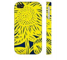 Buy Maikoksoong Yellow Blue Iphone 4/4S Apple Phone Case Flowers Botanical