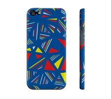Buy Abbott Yellow Red Blue Iphone 5/5S Phone Case