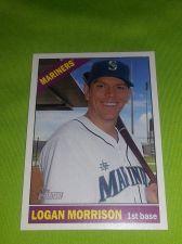 Buy MLB LOGAN MORRISON MARINERS SUPERSTAR 2015 TOPPS HERITAGE #65 GEM MNT