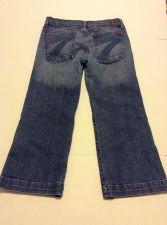 Buy 7 For All Mankind Women Denim Capri Jeans Size 31