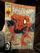 Buy SPIDER-MAN #1 NM/M McFarlane Marvel Comics 1990 Green Purple version 1st print