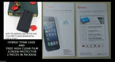 Buy Samsung Note 3 Super Slim Hybrid Titan Case and 2X Free Screen Protector